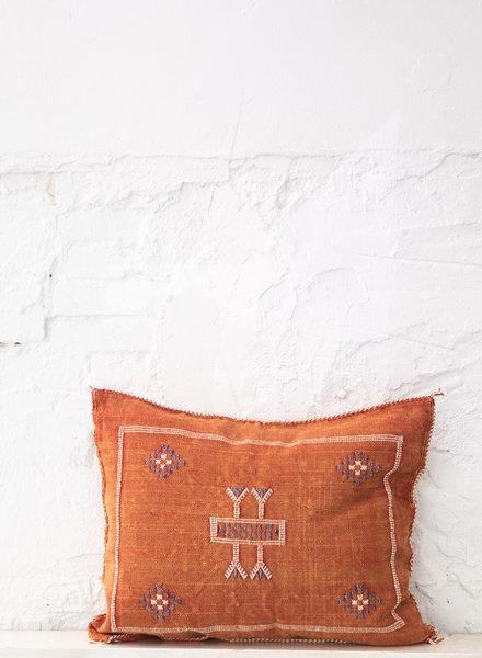 Vegan silk cactus pillow 292