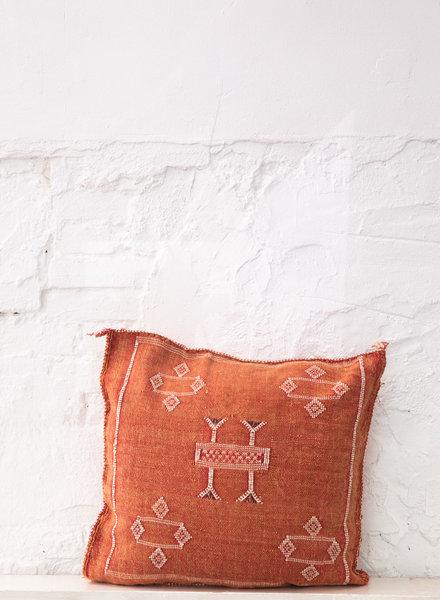 Vegan silk cactus pillow 294