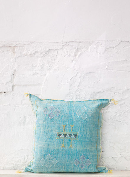 Vegan silk cactus pillow 296