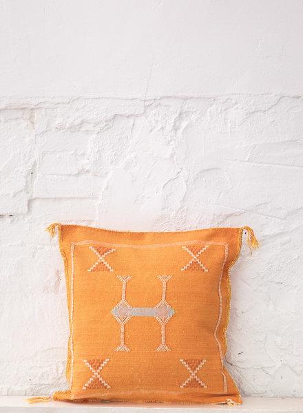 Vegan silk cactus pillow 298