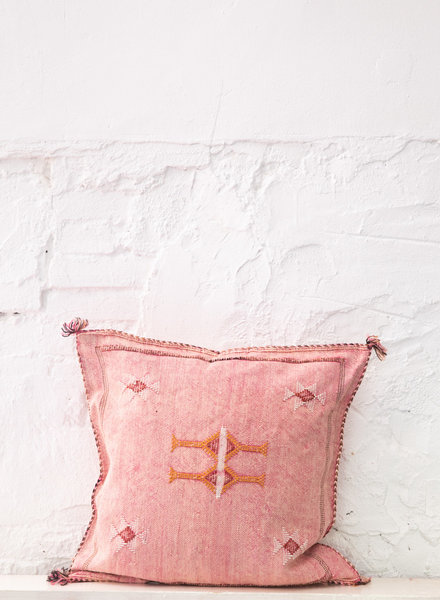 Vegan silk cactus pillow 303