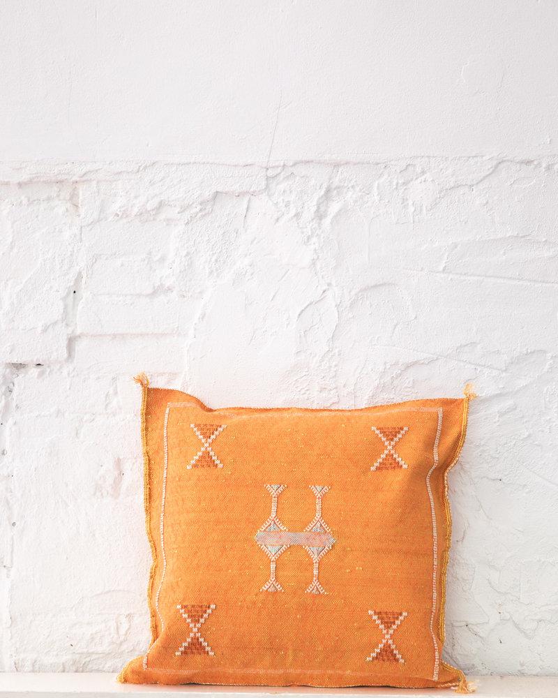 Vegan silk cactus pillow 304