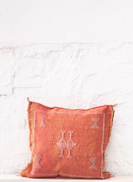 Vegan silk cactus pillow 307