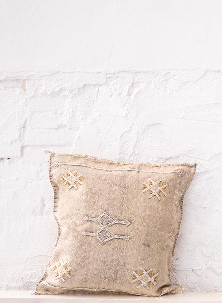 Vegan silk cactus pillow 308