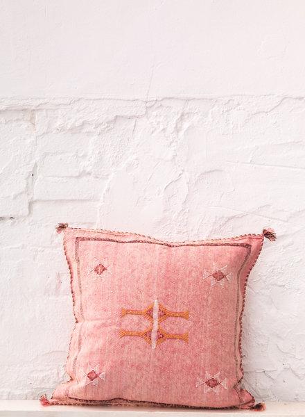 Vegan silk cactus pillow 311