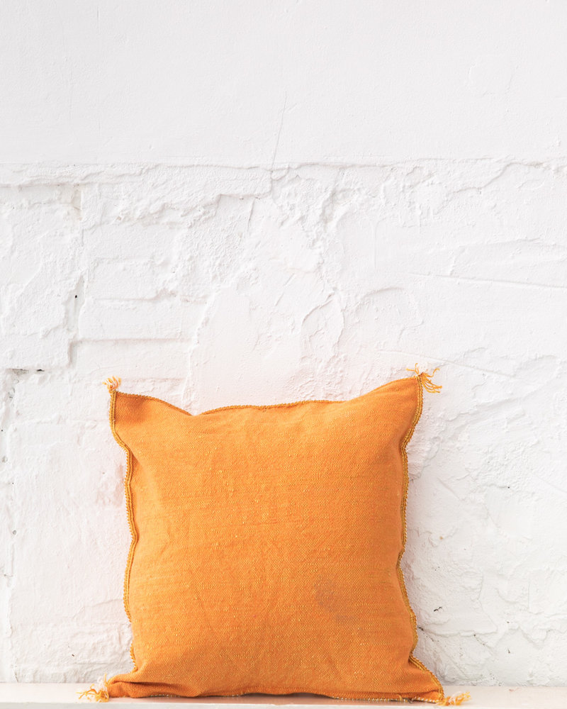 Vegan silk cactus pillow 312