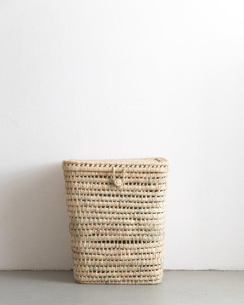 Reed Moroccan basket handmade  - hoog - XL