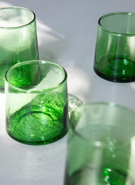 Gerecycled glas - groen