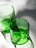 Recycled glass - green