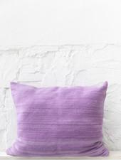 Purple pillow wool - XL