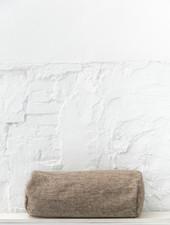 Bolster wool grey brown