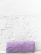 Bolster wool purple