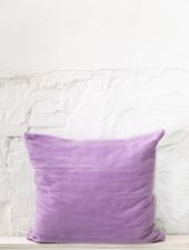 Kussen wol paars - XL