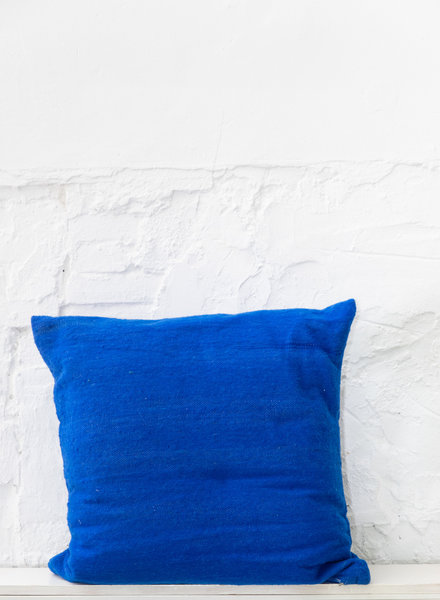 Pillow wool blue - XL