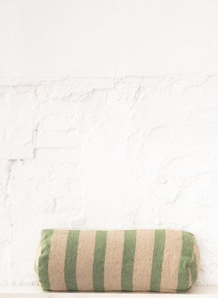 Bolster cotton camel green (PRE-ORDER)