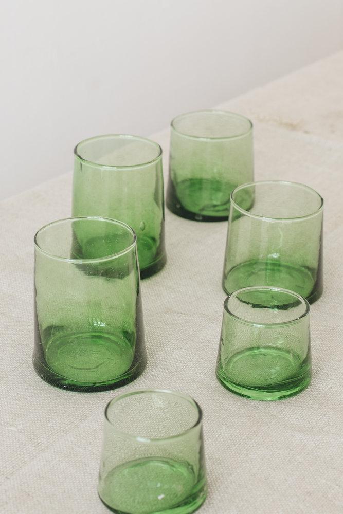 tafel dekken inspiratie marokkaans servies glazen