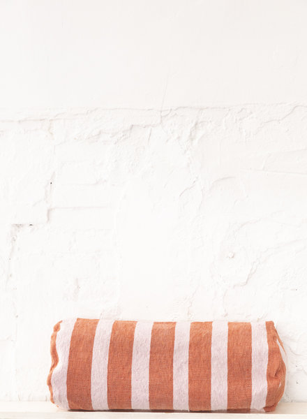 Bolster cotton terra soft pink (PRE-ORDER)