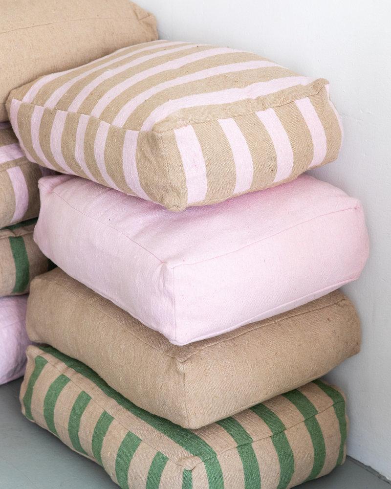 Floor pillow small soft pink