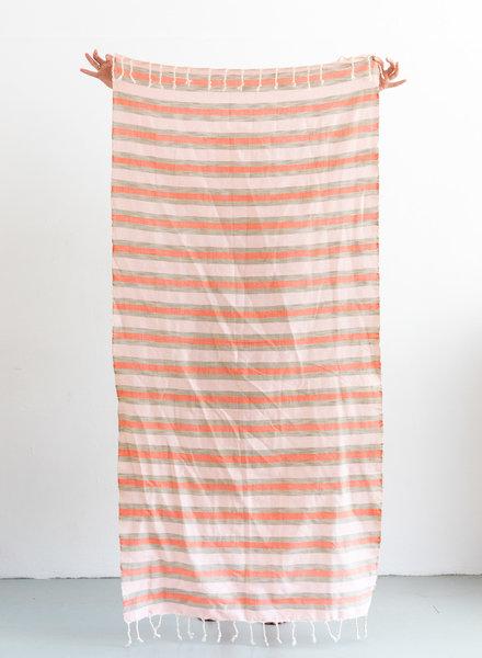 Hammam towel stripe multicolor