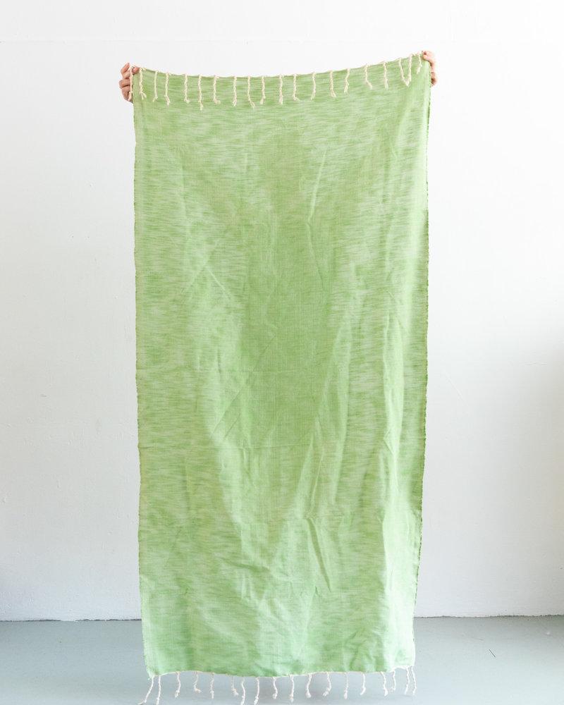 Hammamdoek groen (PRE-ORDER)