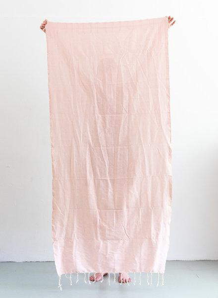 Hammam towel soft pink