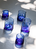 Recycled glass - blue