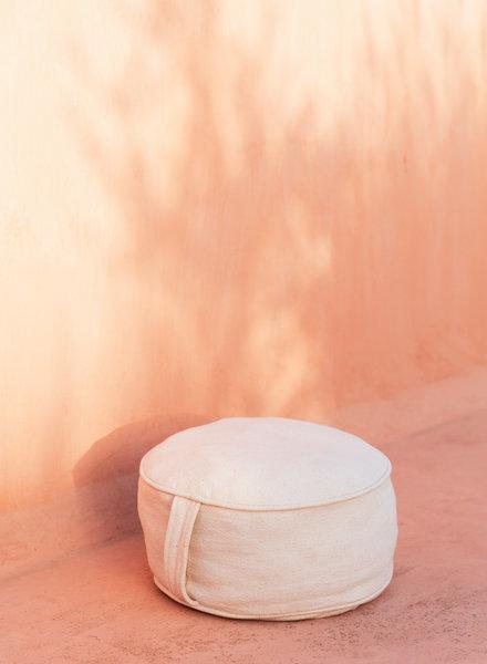 MoiTu yoga pillow off white cotton