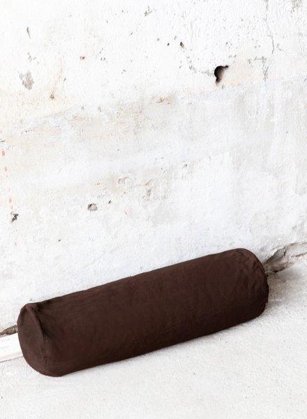 MoiTu yoga bolster brown cotton