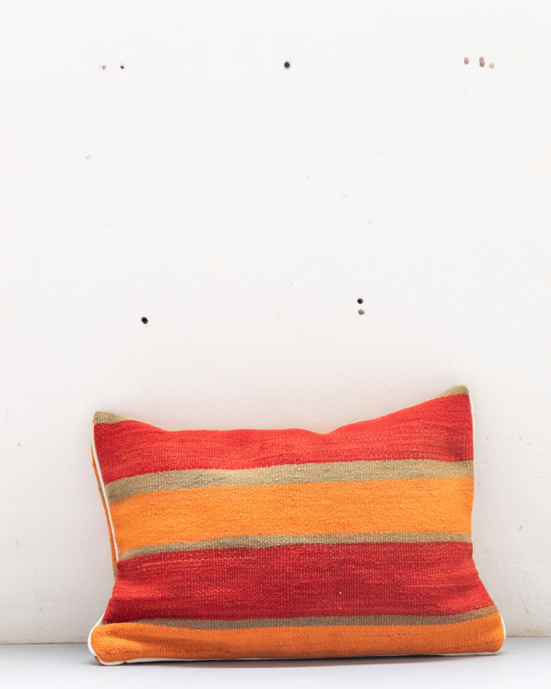 Authentic striped Berber pillow from Morocco XL 480