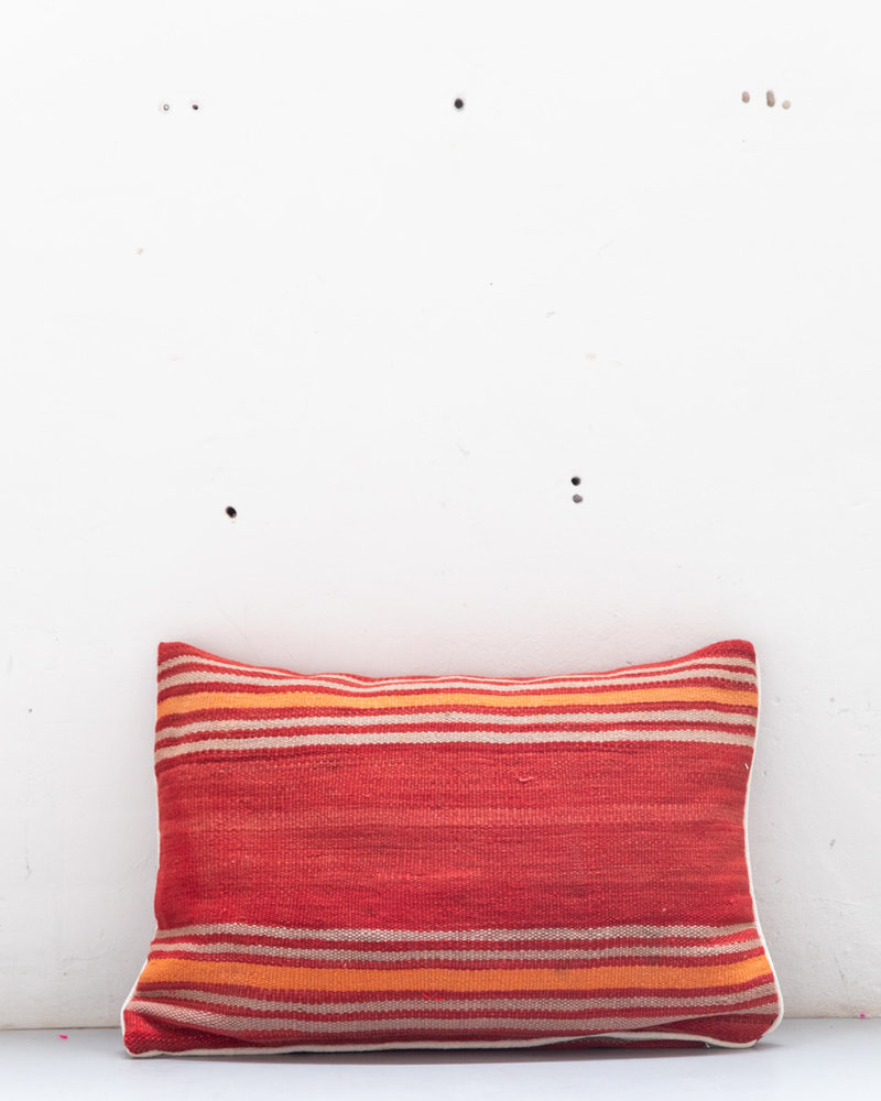 Authentic striped Berber pillow from Morocco XL 460