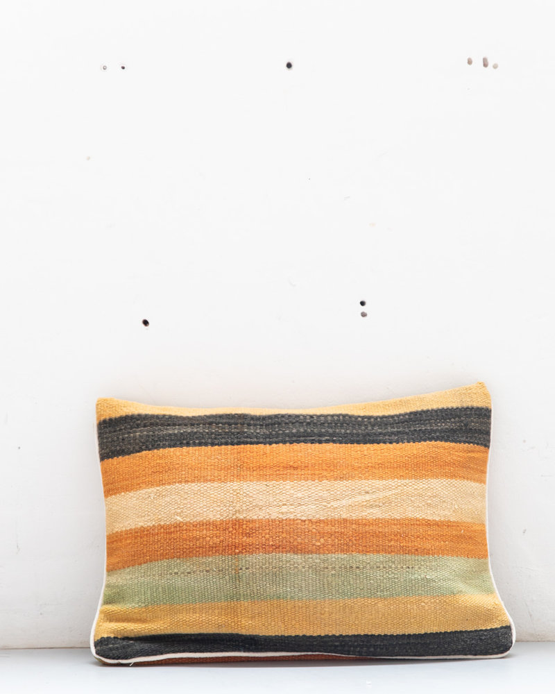 Authentic striped Berber pillow from Morocco XL 455
