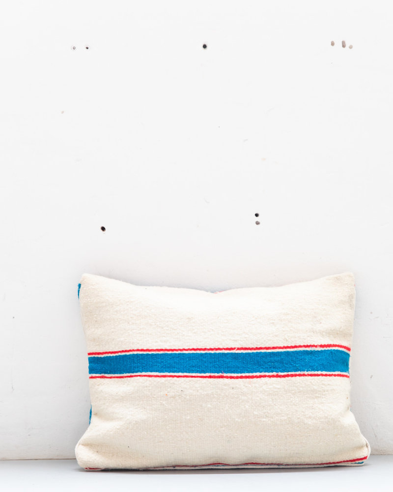Authentic striped Berber pillow from Morocco XL 449