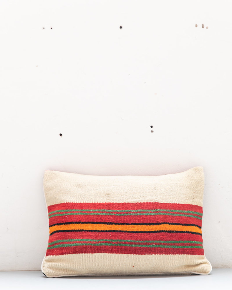 Authentic striped Berber pillow from Morocco 430