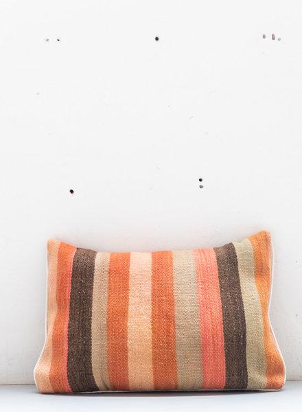 Berber stripe pillow 418