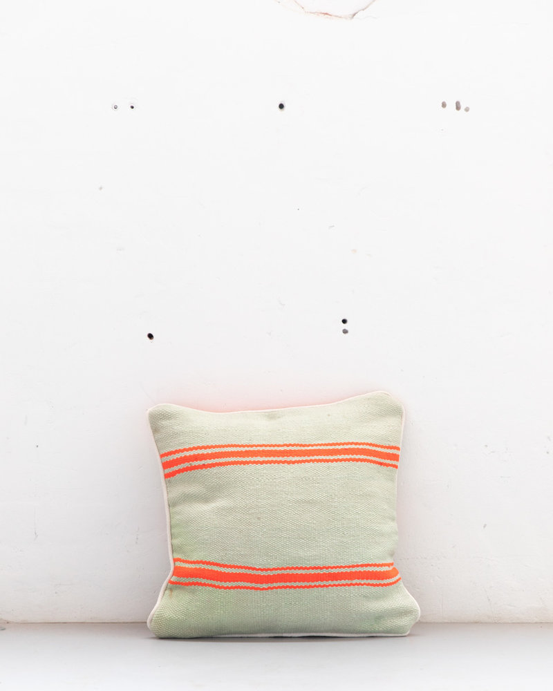 Authentic striped Berber pillow from Morocco 522