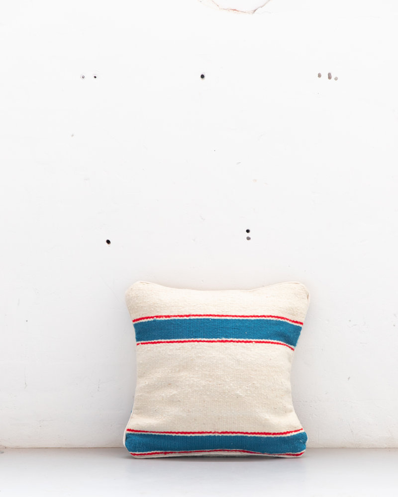 Authentic striped Berber pillow from Morocco 521