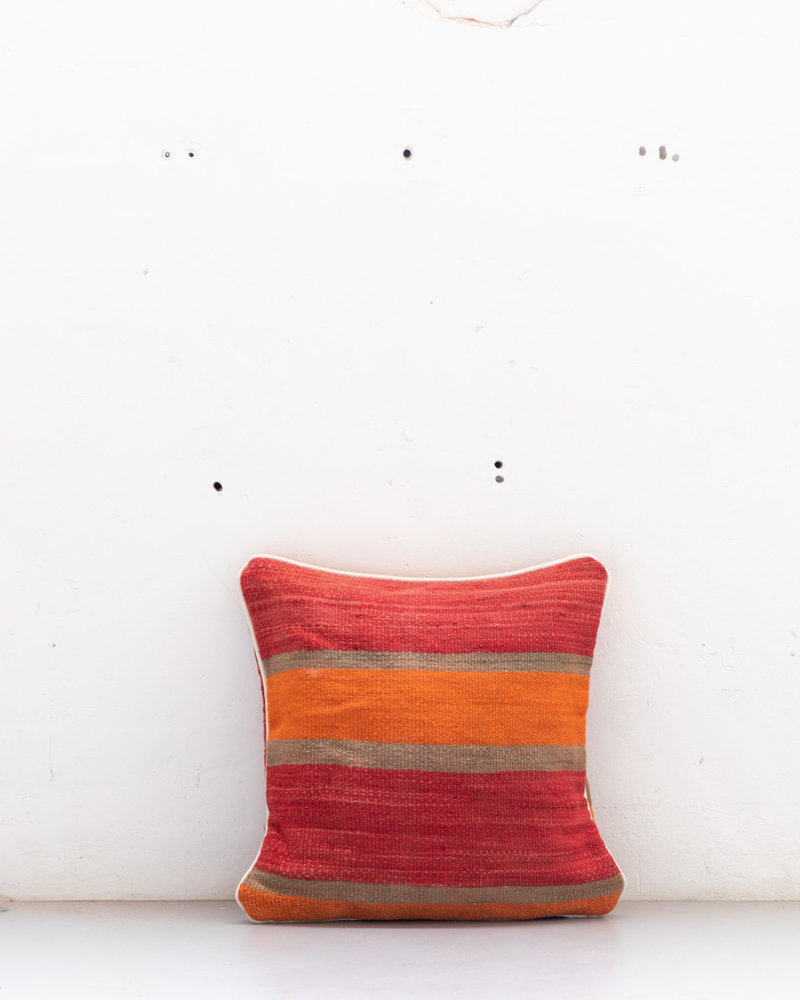 Authentic striped Berber pillow from Morocco 511