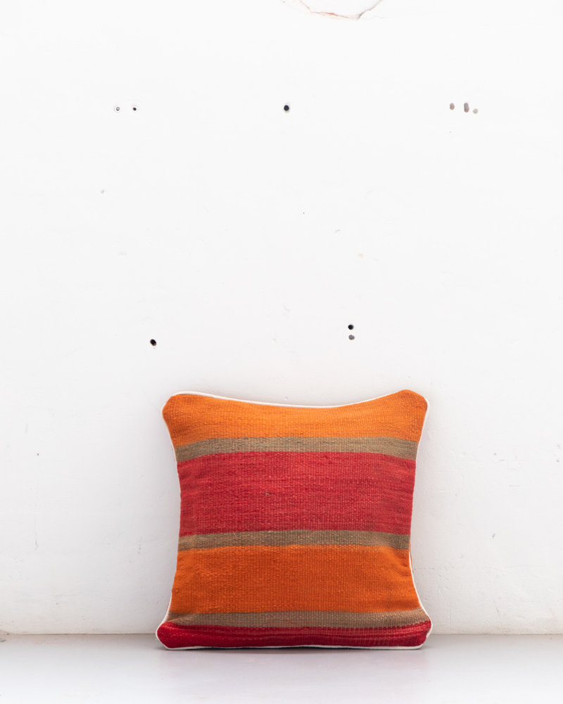 Authentic striped Berber pillow from Morocco 509