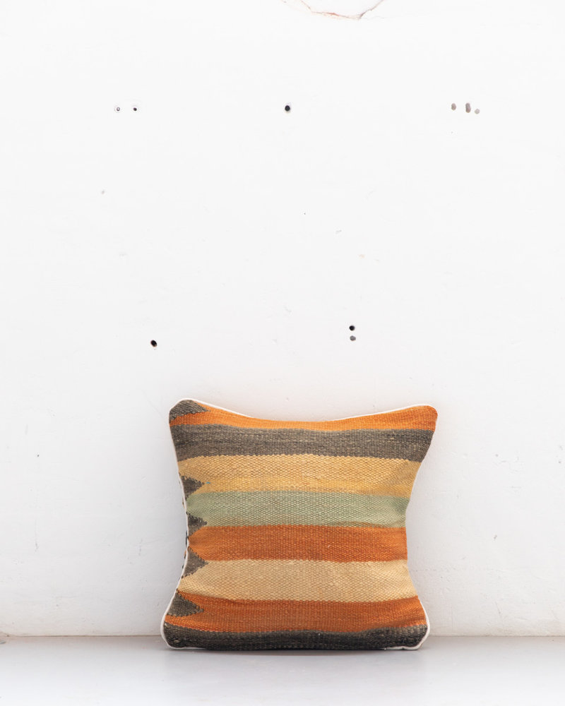 Authentic striped Berber pillow from Morocco 508