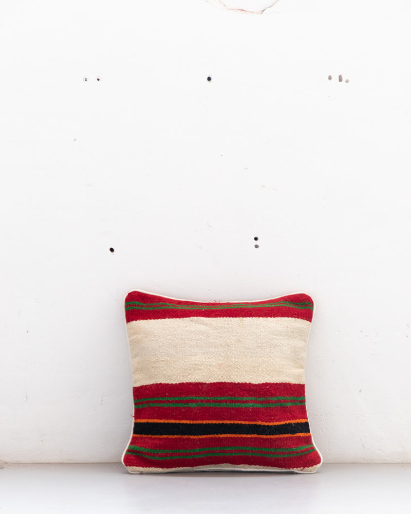 Authentic striped Berber pillow from Morocco 507