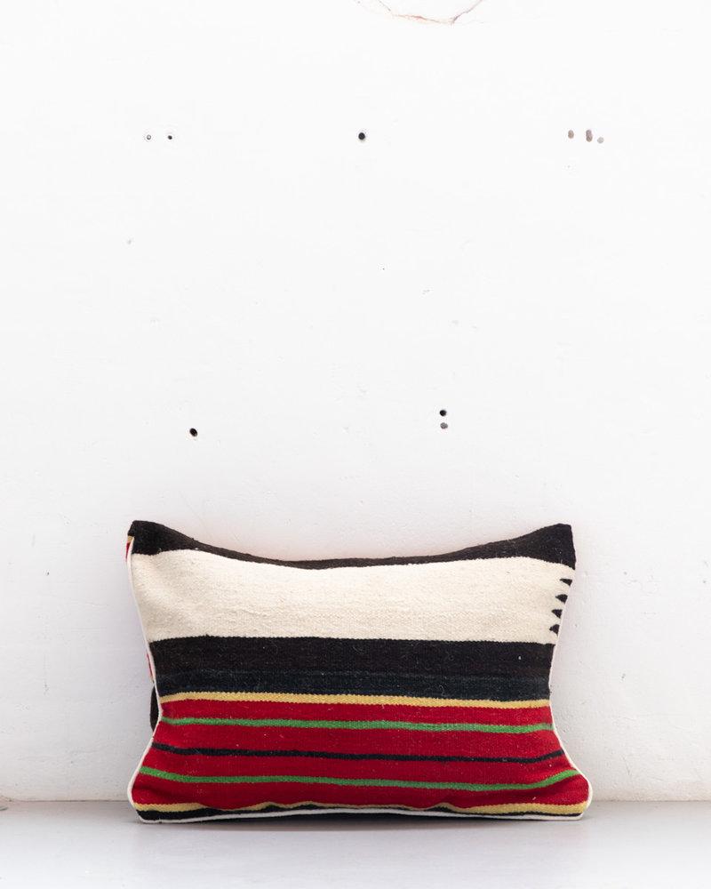 Authentiek gestreept Berber kussen uit Marokko XL 501