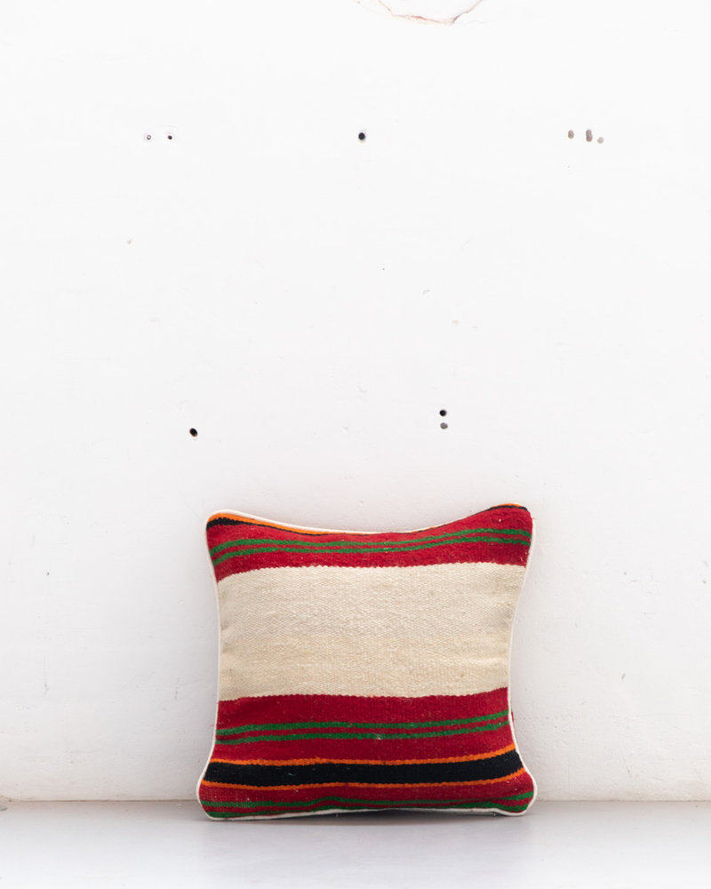 Authentic striped Berber pillow from Morocco 503