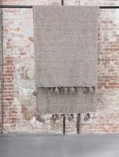 Berber pompom blanket M