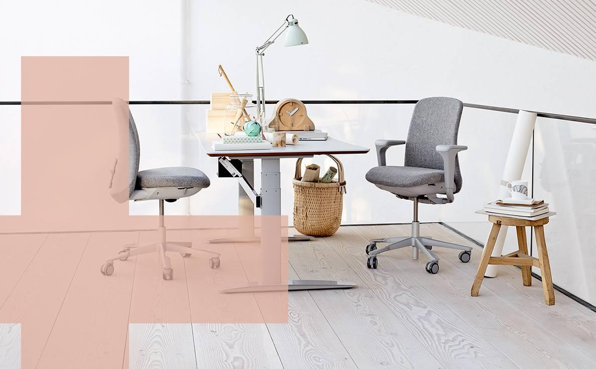 Snip Wonen HAG bureaustoelen