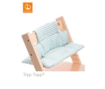 Stokke Kussenset Aqua Stripes
