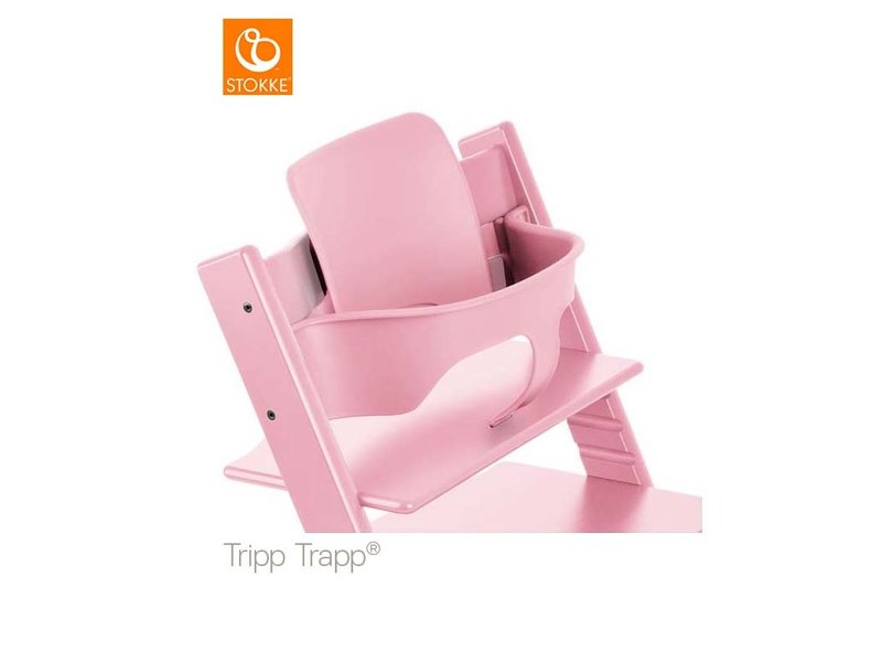 Stokke Tripp Trapp Baby Set Baby Set Soft Pink
