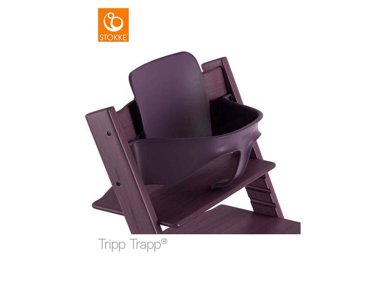 Stokke Tripp Trapp Baby Set Plum Purple