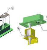 3D Systems Service Station Assembly