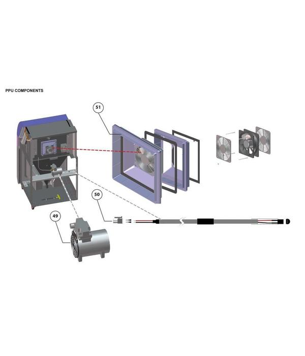 3D Systems PPU Components