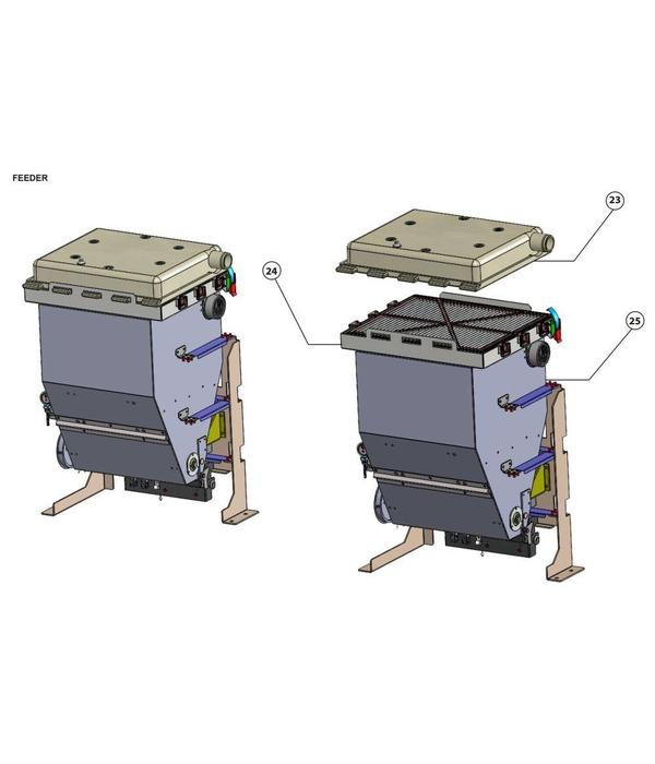 3D Systems Feeder Components